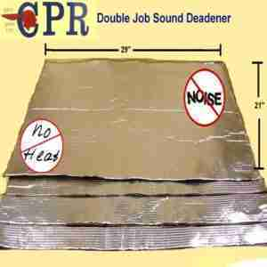 Sound deadener material  FREE SHIPPING 80 mil nominal thickness i